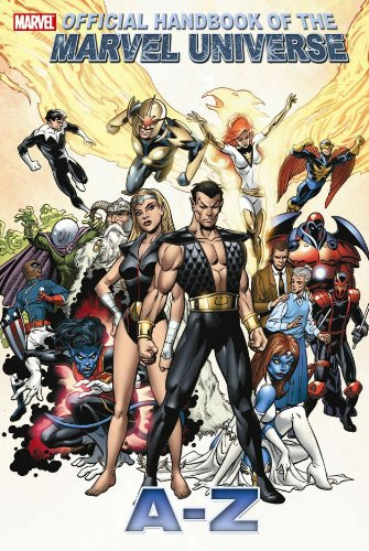 All New Official Handbook Of The Marvel Universe A - Z  Vol. 8 Cover