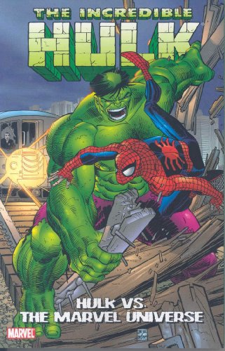 Incredible Hulk Vs. The Marvel Universe Cover