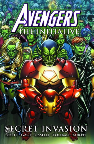 Avengers: The Initiative Vol. 3: Secret Invasion Cover