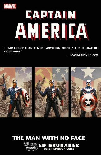 Captain America: The Man with No Face  Cover