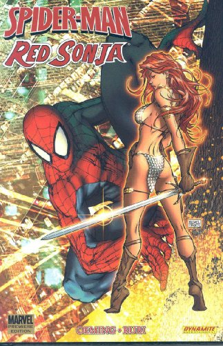 Spider-Man / Red Sonja Cover