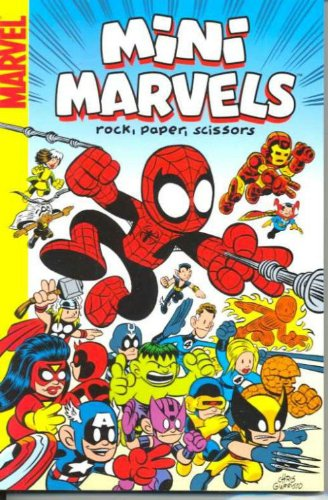 Mini Marvels: Rock, Paper, Scissors Cover
