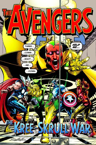 Avengers: The Kree - Skrull War Cover