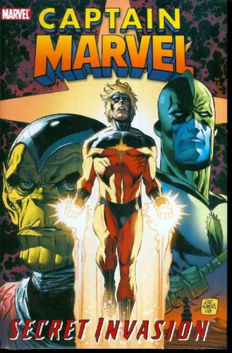 Captain Marvel: Secret Invasion Cover