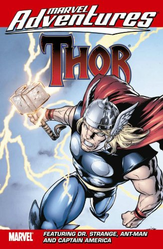 Marvel Adventures Thor featuring Captain America, Dr. Strange And Ant-Man Cover