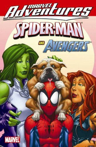 Marvel Adventures Spider-Man And The Avengers  Cover