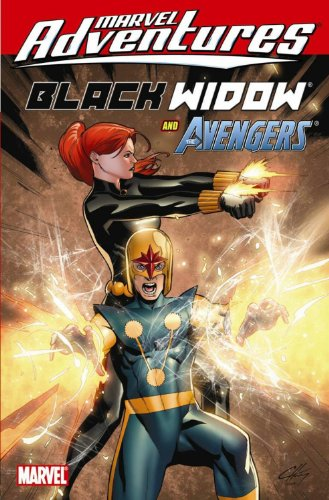 Marvel Adventures Black Widow And The Avengers Cover