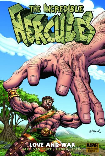 Incredible Hercules Love and War cover