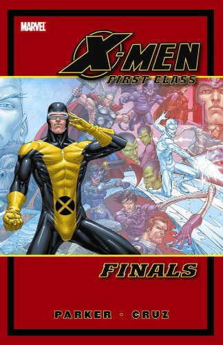 X-Men First Class: Finals Cover