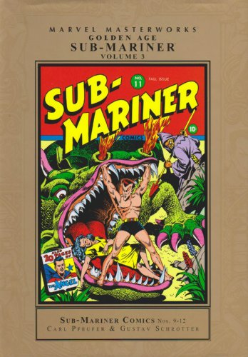 Marvel Masterworks: Golden Age Sub-Mariner Vol. 3  Cover