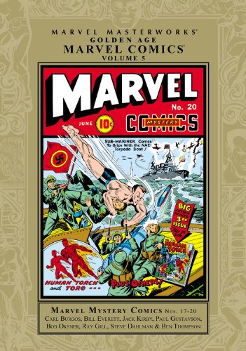 Marvel Masterworks: Golden Age Marvel Comics Vol. 5  Cover