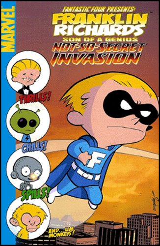 Franklin Richards: Not-So-Secret Invasion Cover