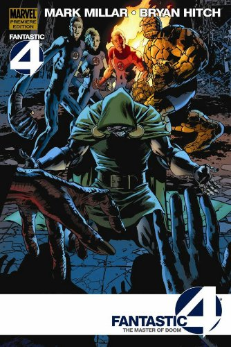 Fantastic Four: The Master Of Doom Cover