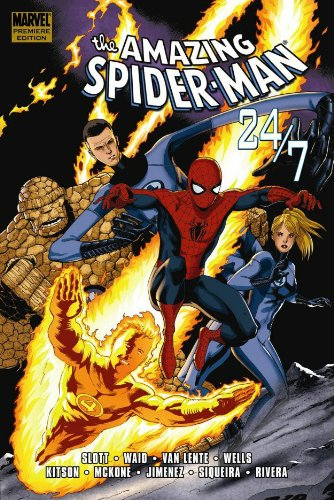 Spider-Man: 24 / 7  Cover