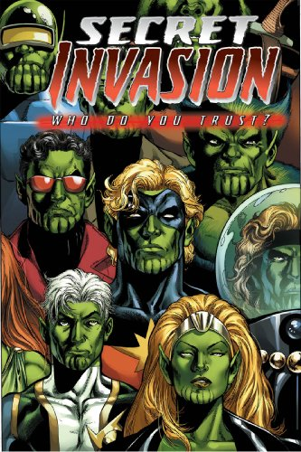 Secret Invasion: Who Do You Trust? Cover