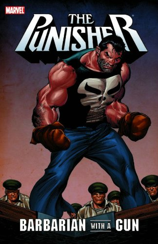Punisher: Barbarian with A Gun Cover