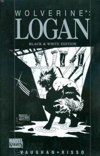 Wolverine: Logan Black And White Cover