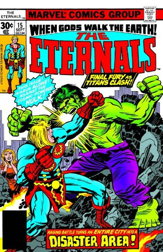 Eternals by Jack Kirby Vol. 2 Cover