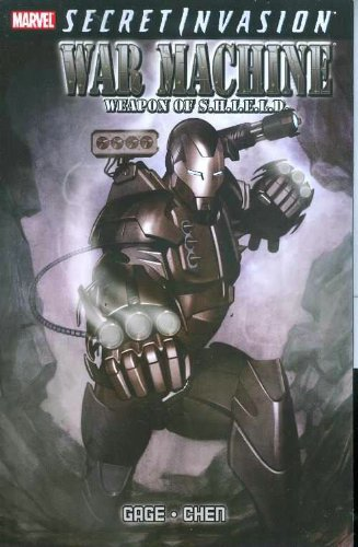 Secret Invasion: War Machine Cover