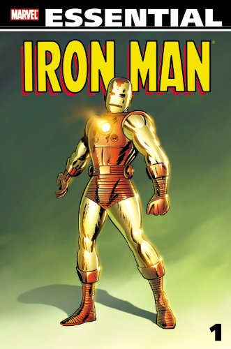 Essential Iron Man Vol. 1  Cover