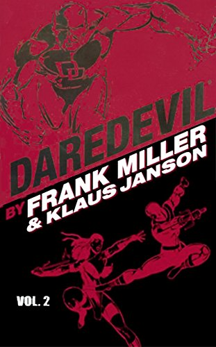 Daredevil by Frank Miller And Klaus Janson Vol. 2 Cover