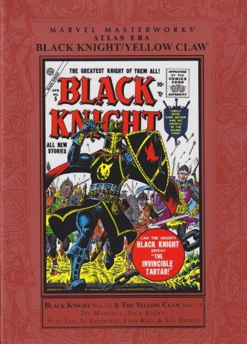 Marvel Masterworks: Atlas Era Black Knight / Yellow Claw Vol. 1 Cover