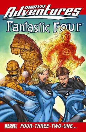 Marvel Adventures Fantastic Four: Four-Three-Two-One? Cover