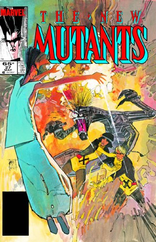 New Mutants Classic Vol. 4 Cover