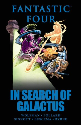 Fantastic Four: In Search Of Galactus Cover