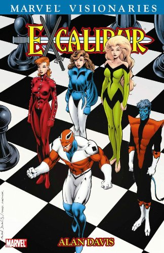 Excalibur Visionaries: Alan Davis Vol. 1 Cover