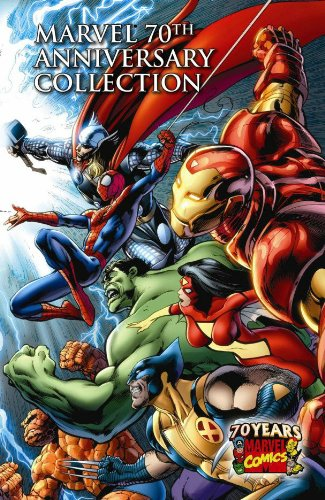 Marvel Comics 70th Anniversary Collection Cover