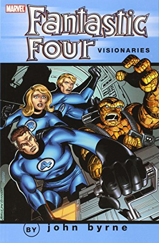 Fantastic Four Visionaries: John Byrne Vol. 0 Cover