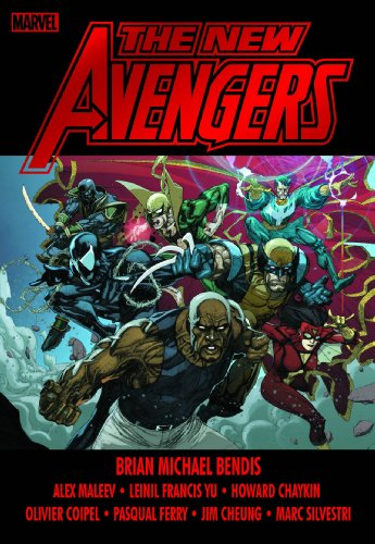 New Avengers Vol. 3 Cover