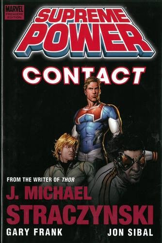 Supreme Power Vol. 1: Contact Cover