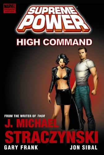 Supreme Power Vol. 3: High Command Cover