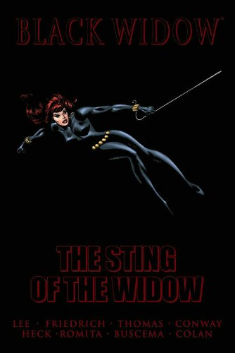 Black Widow: The Sting Of The Widow Cover