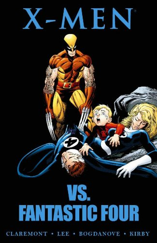 X-Men Vs. Fantastic Four Cover