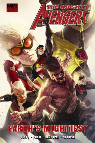 Mighty Avengers Vol. 5: Earth's Mightiest Cover