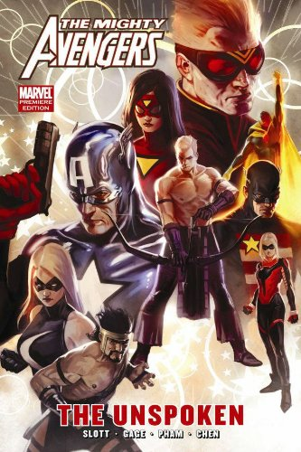 Mighty Avengers Vol. 6: The Unspoken Cover