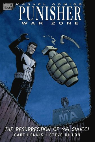 Punisher War Zone: The Resurrection Of Ma Gnucci Cover