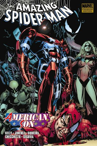 Spider-Man: American Son  Cover