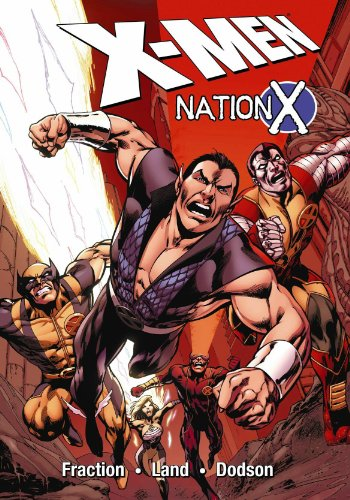 Uncanny X-Men: Nation X Cover