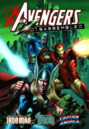 Avengers Disassembled: Iron Man, Thor And Captain America Cover