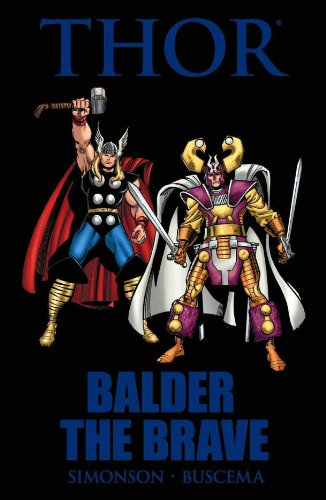 Thor: Balder The Brave Cover
