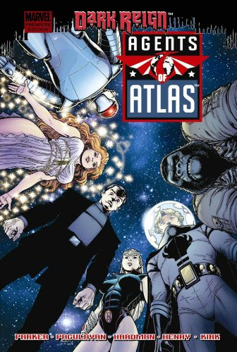 Agents Of Atlas: Dark Reign Cover