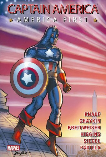 Captain America: America First Cover