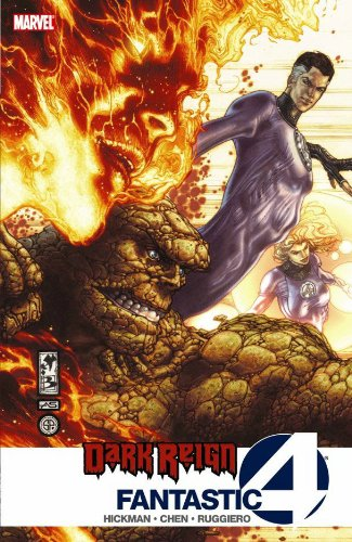 Dark Reign: Fantastic Four Cover