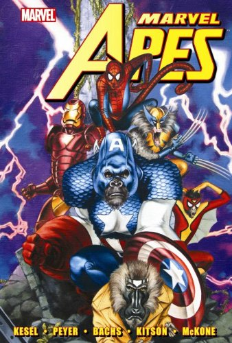 Marvel Apes Cover