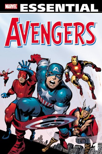 Essential Avengers Vol. 1  Cover