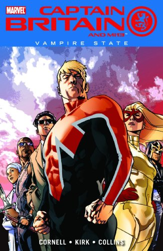 Captain Britain And MI:13 Vol. 3: Vampire State Cover